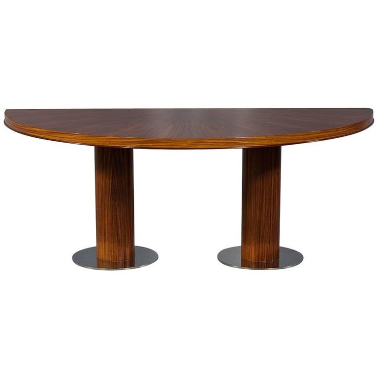 Kitchenette Tables And Chairs: Retro Danish Half Kitchenette Table For Sale At 1stdibs