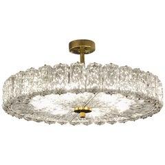 Italian Murano Glass Light Fixture