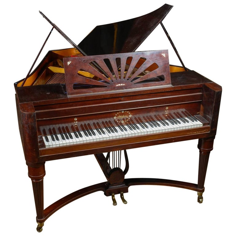 Baby Grand Quot Butterfly Piano For Sale At 1stdibs