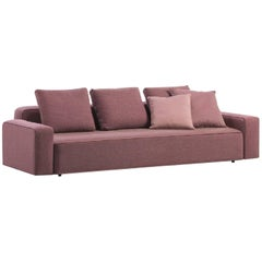 Roda Danday Indoor/Outdoor Sofa in Plot D04 Fuchsia Upholstery