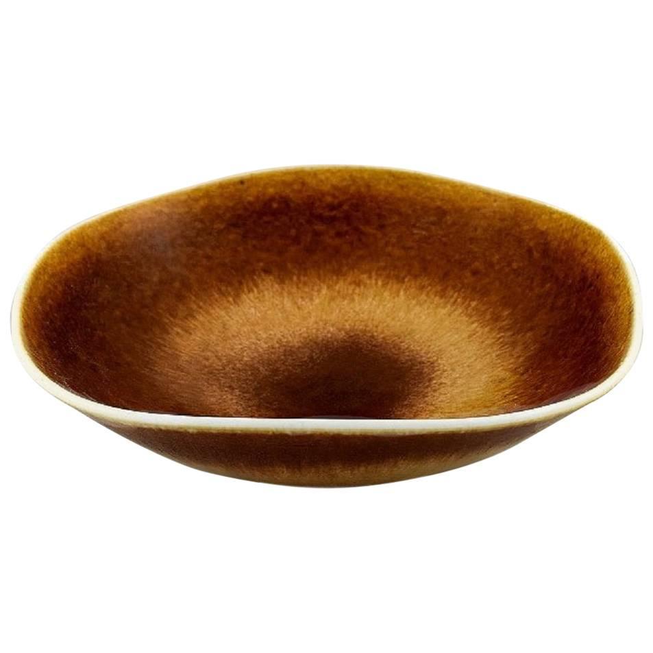Berndt Friberg Studio Large Ceramic Bowl, Modern Swedish Design