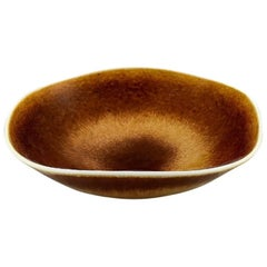 Berndt Friberg Studio Large Ceramic Bowl, Modern Swedish Design