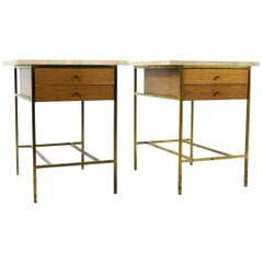 Pair of Two-Drawer Nightstands by Paul McCobb for Calvin Group