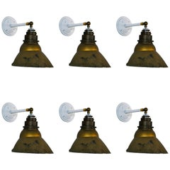 1920 X-Ray Industrial Wall Sconces