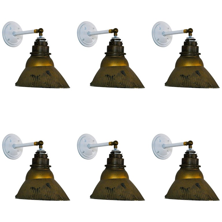 1920 X-Ray Industrial Wall Sconces For Sale