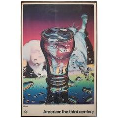 American Centennial 1976 Photorealist Poster by Ben Schonzeit