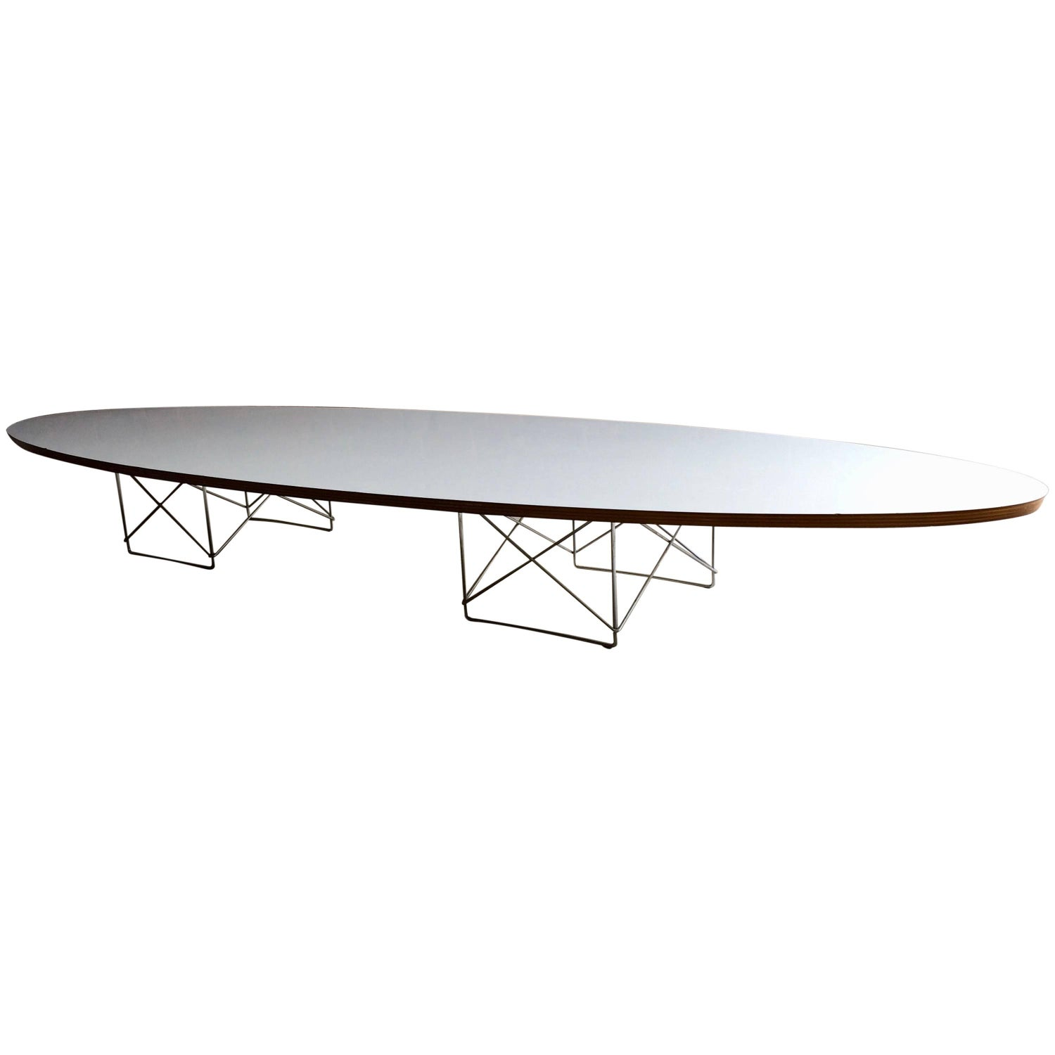 Charles and Ray Eames Elliptical Etr Coffee Table for Vitra