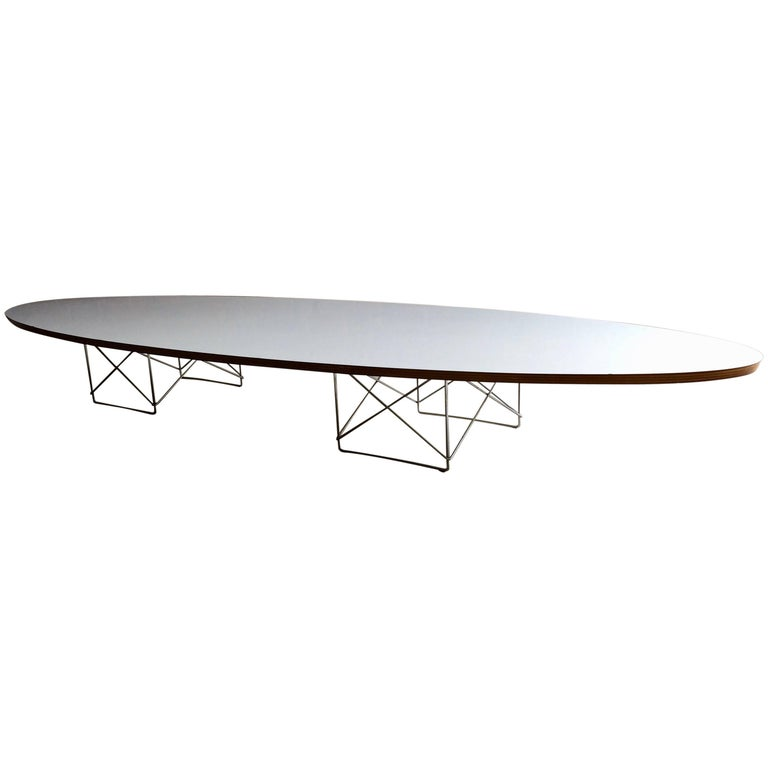 charles and ray eames elliptical etr coffee table for vitra surfboard mid century at 1stdibs. Black Bedroom Furniture Sets. Home Design Ideas