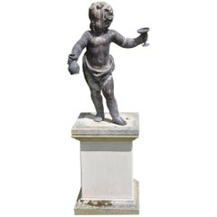17th Century Lowland Lead Putto