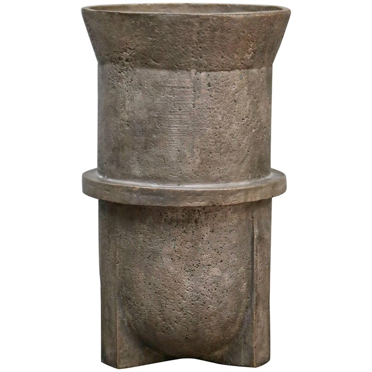 Rick Owens Urn in Bronze Material For Sale