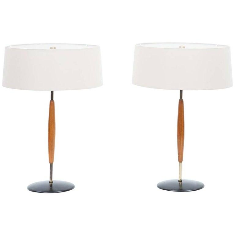 Pair of Gerald Thurston Table Lamp