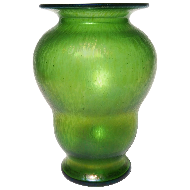 Loetz art nouveau crete green cisel vase for sale at 1stdibs reviewsmspy