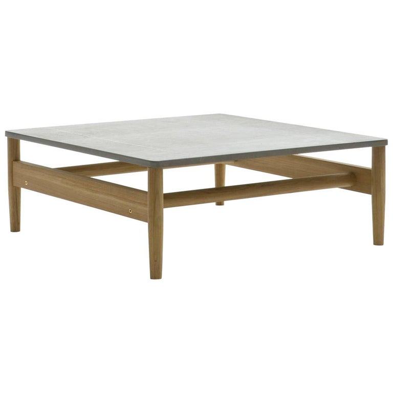 Roda Indoor/Outdoor Road 226 Coffee Table with Farsena Stone