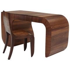 Contemporary 'Opener' Desk in American Black Walnut by Jonathan Field