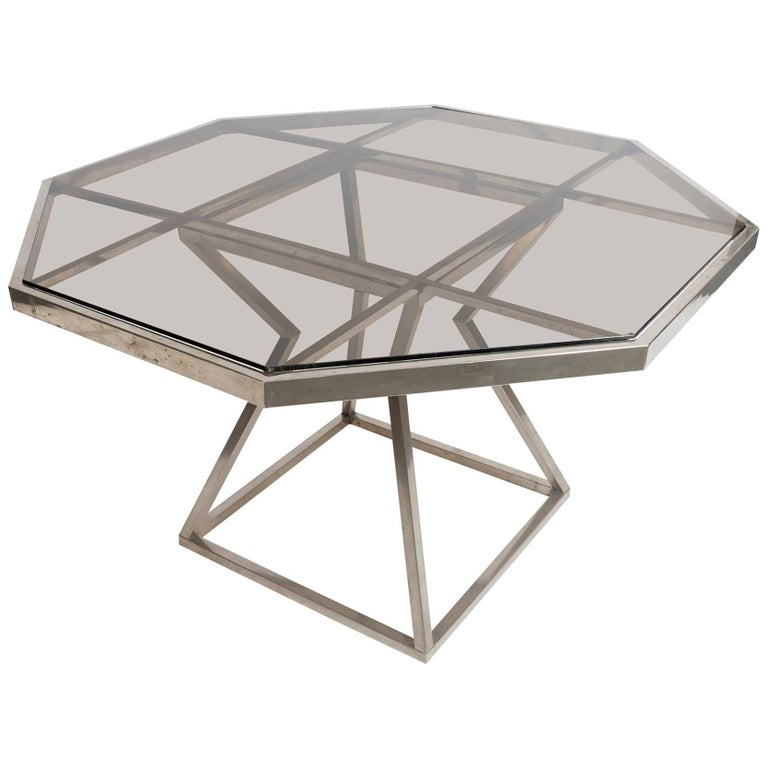 octagonal agente dining table for sale at 1stdibs