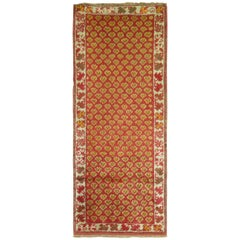 Tiny Antique Turkish Rug