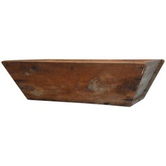 Primitive Wooden American Trough