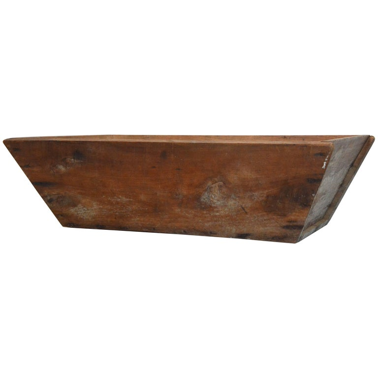 Primitive Wooden American Trough For Sale