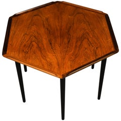Rare Danish Mid-Century Rosewood Side Table