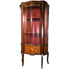 French Vintage Salon Cabinet in Rococo Style