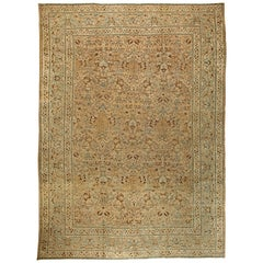 Oversized Antique Persian Khorassan Rug