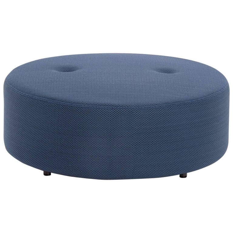 Roda Double 032 Indoor/Outdoor Pouf Designed by Rodolfo Dordoni For Sale
