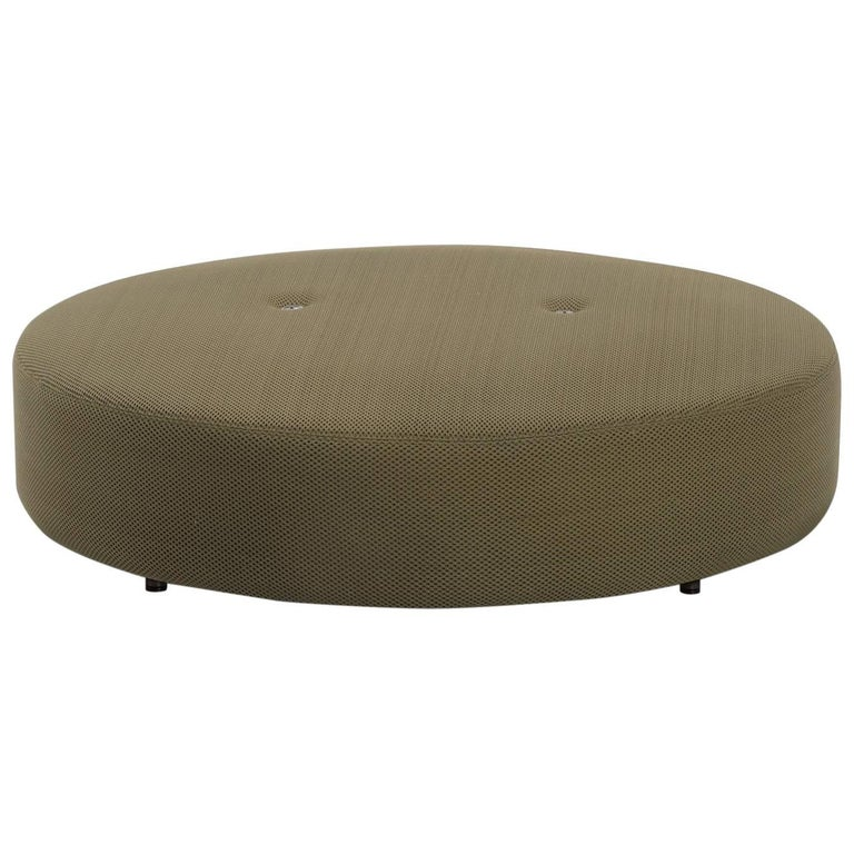 Roda Double 033 Indoor/Outdoor Pouf designed by Rodolfo Dordoni For Sale