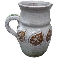 Albert Thiry Beautiful Ceramic Pitcher, circa 1960