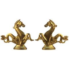 Pair of Vintage Venetian Gondola Horses