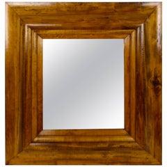 19th Century American Pine Mirror