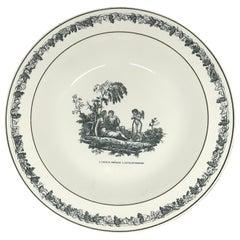 Creil Creamware Plates