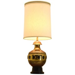 Monumental Moroccan Table Lamp