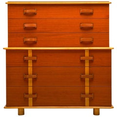 "Paul T. Frankl ""Station Wagon"" Tall Chest of Drawers"