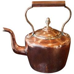 English Copper Kettle, circa 1865