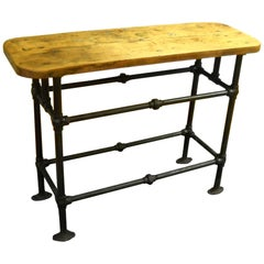 Industrial Serving Table