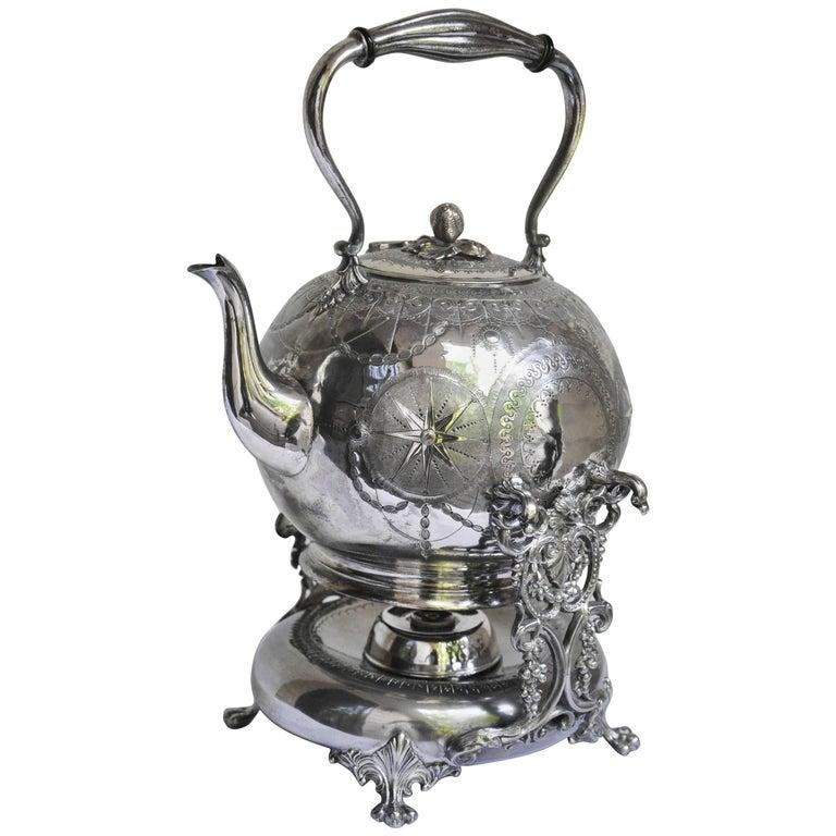 English Tilting Tea Pot For Sale