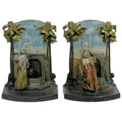 Man and Woman at the Well 'Bookends'