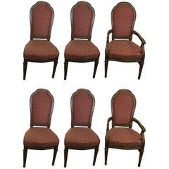 ON SALE NOW!  SET OF SIX! Fabulous Set of Six Henredon Dining Chairs!