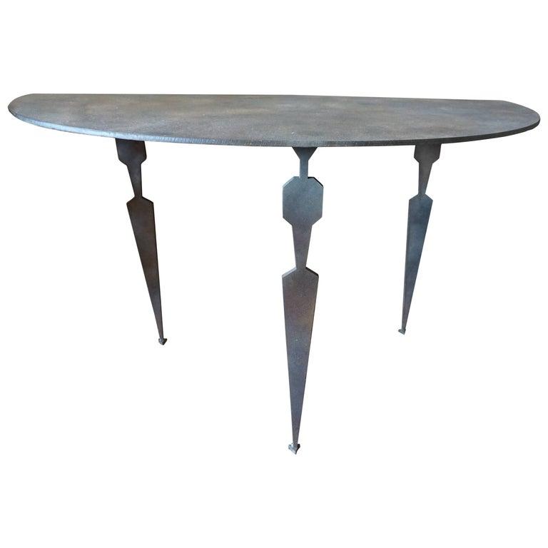 Midcentury Style Iron Table