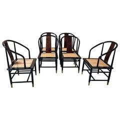Set of Six Henredon Dining Chairs