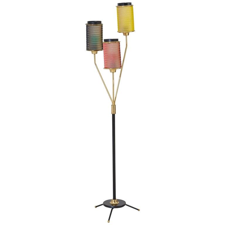 Awe Inspiring Scandinavian Mid Century Floor Lamp For Sale At 1Stdibs Wiring Cloud Hisonuggs Outletorg