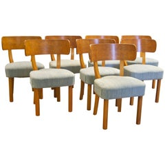 Set of Eight Dining Chairs by Axel Einar Hjorth