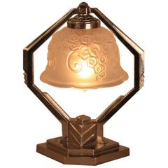 French Art Deco Table Lamp