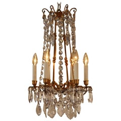 French 19th Crystal Chandelier