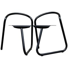 Two Aluminum Chairs from the 1970s by the Danish Designer Erik Magnussen