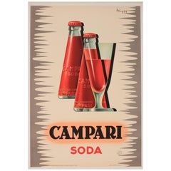 'Campari' Original Advertising Poster
