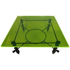 Jupiter Green Acrylic Coffee Table