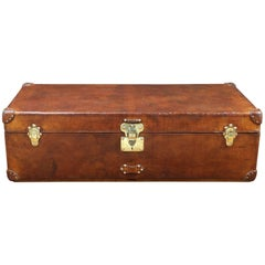 1910s Louis Vuitton Leather Cabin Trunk
