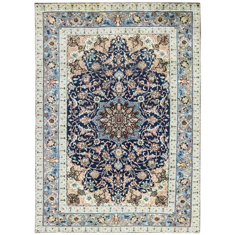Very Fine Persian Isfahan Rug For