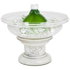 Mid-20th Century Glass Table Fountain